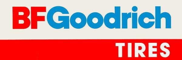 BF Goodrich Tires sign circa 1960s