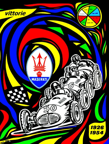 Maserati sign - 1926-1954