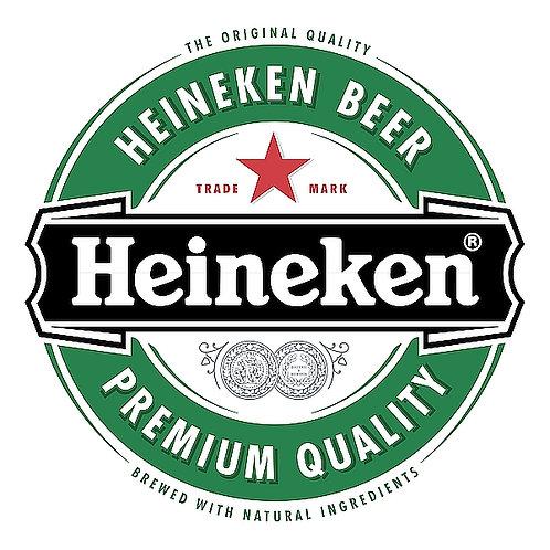Heineken Beer metal sign
