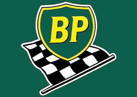 BP metal sign