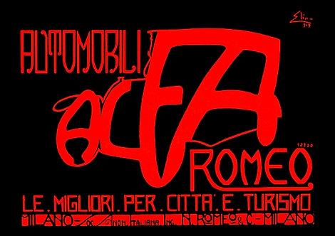 Alfa Romeo Automobili Sign