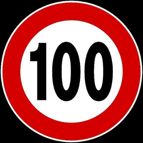 100 Speed Limit
