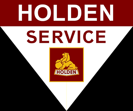 GroupBuy - Holden Service Pennant Shape Sign