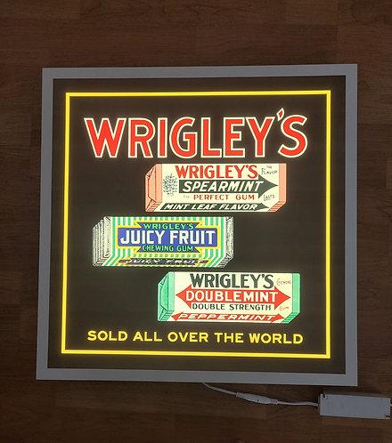 Wrigley's Chewing Gum c.1916 - Illuminated Sign