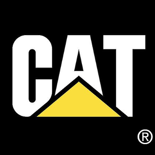 CAT metal sign