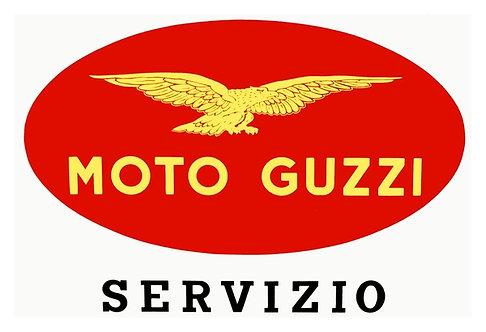 Moto Guzzi Servizio sign