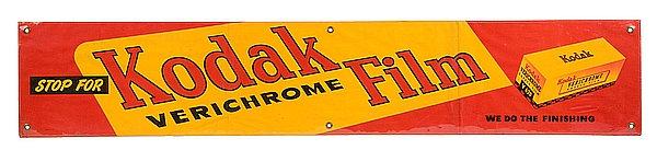 Kodak Verichrome Film metal sign