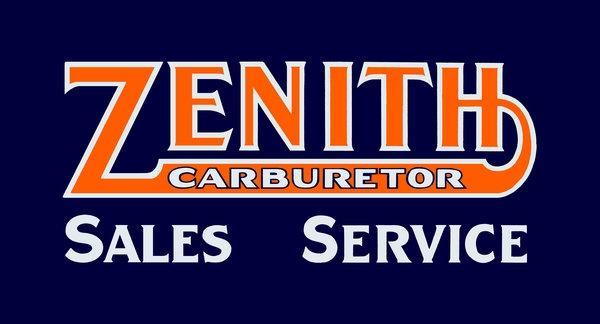 Zenith Carburetors sign