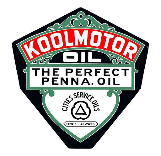 Koolmotor Oil sign