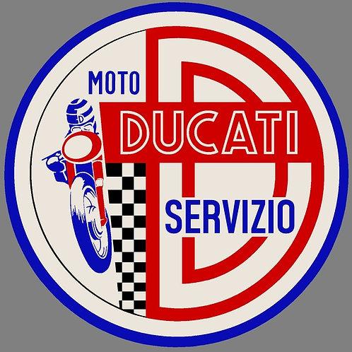 Ducati Servizio Sticker