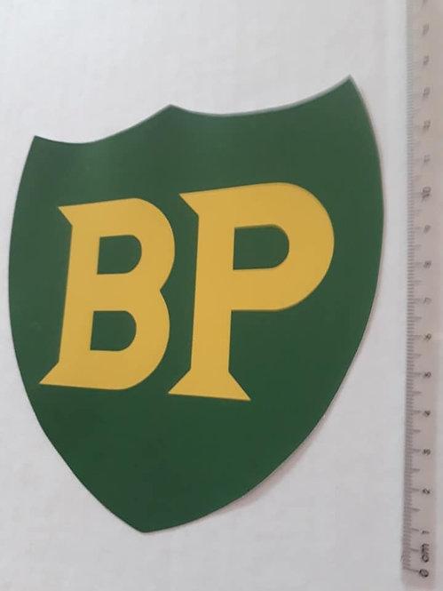 BP Shield Sticker - Cut to Shape