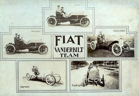 FIAT Vanderbilt Team sign