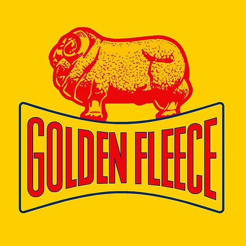 Golden Fleece on yellow Sticker