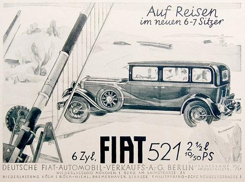 Fiat 521 sign