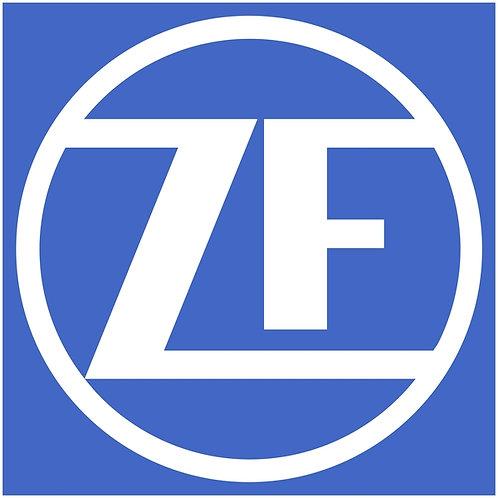 ZF car parts sign