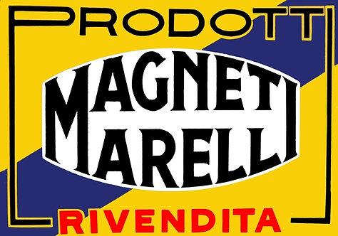 Early Magneti Marelli Dealer sign