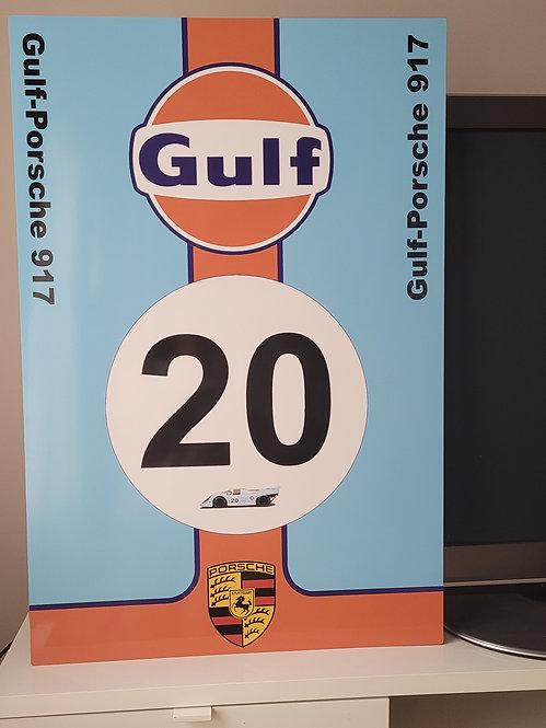 Gulf-Porsche 917 - 1970 Le Mans Livery