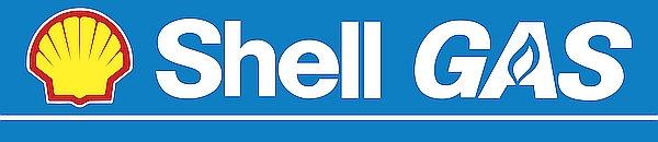 Shell Gas metal sign