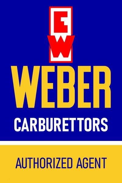 Weber Carburettors dealer sign late 1950's