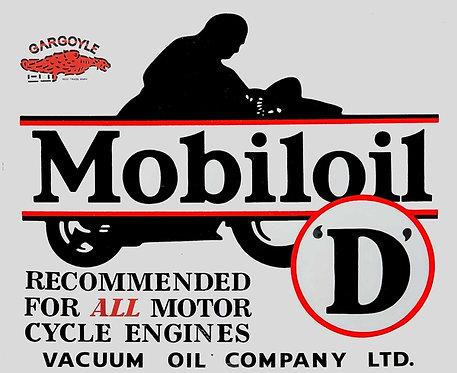 Mobiloil 'D'