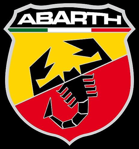 Abarth car magnet