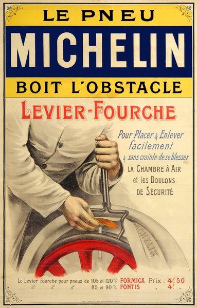 Michelin Tire Tool advert c. 1890's
