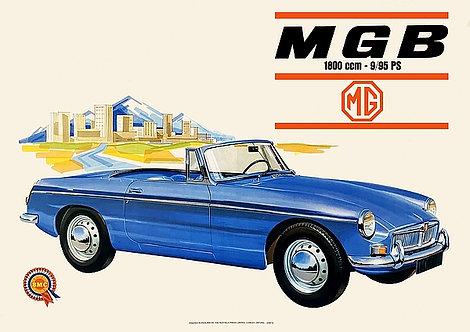 MGB 1800ccm Sign
