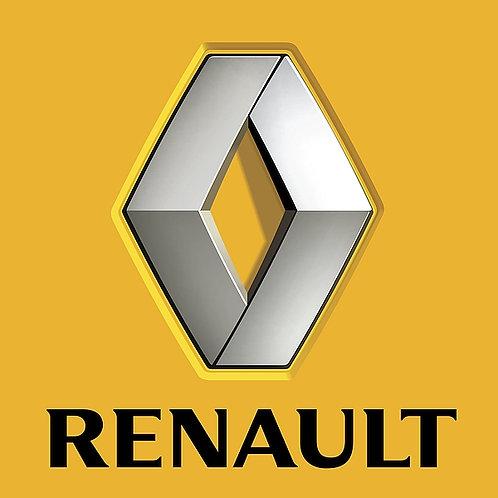 Renault metal sign