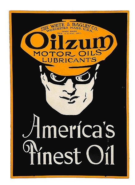 Oilzum Motor Oils metal sign