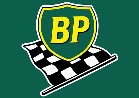 BP Chequered Flag A3 Sign