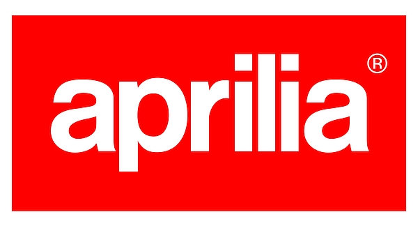 Aprilia metal sign