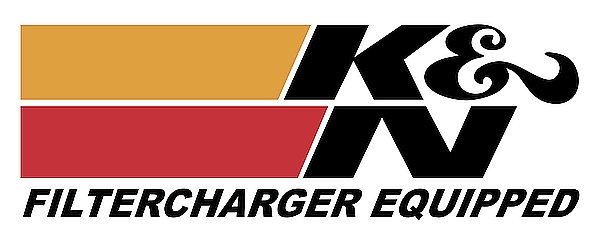 K & N - Filtercharger Equipped metal sign