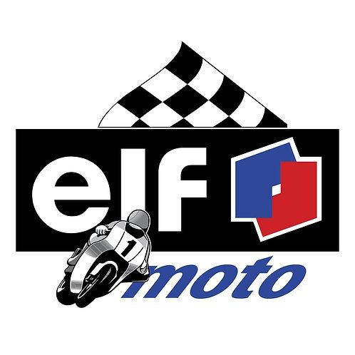 Elf Moto sign