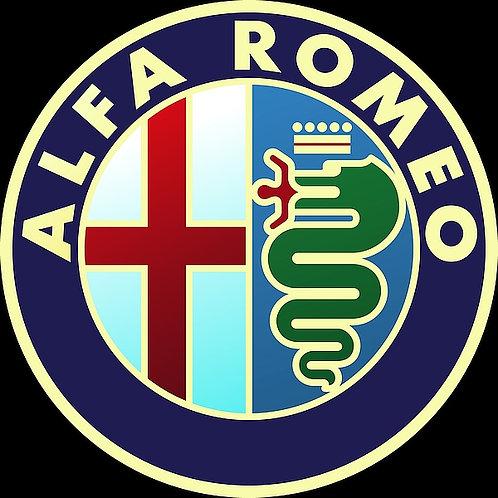 Alfa Romeo metal sign