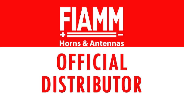 Fiamm Official Distributor metal sign