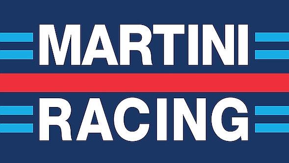 Martini Racing metal sign