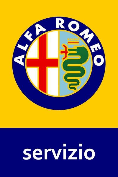 Alfa Romeo Servizio sign