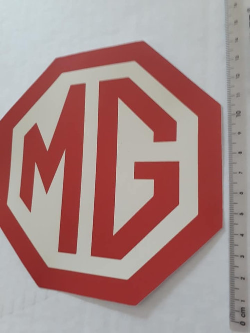 MG Badge Sticker