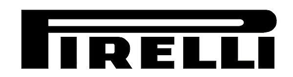 Pirelli (black) metal sign