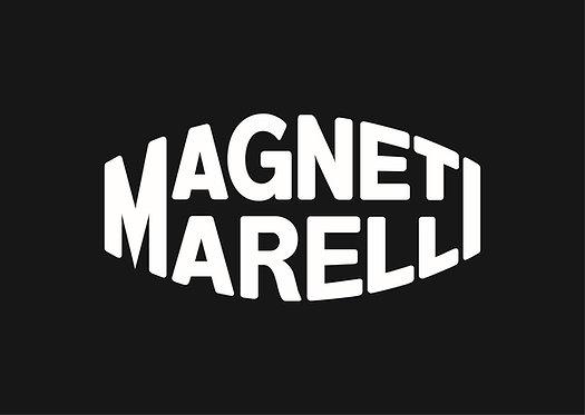 Magneti Marelli (white on black) sign