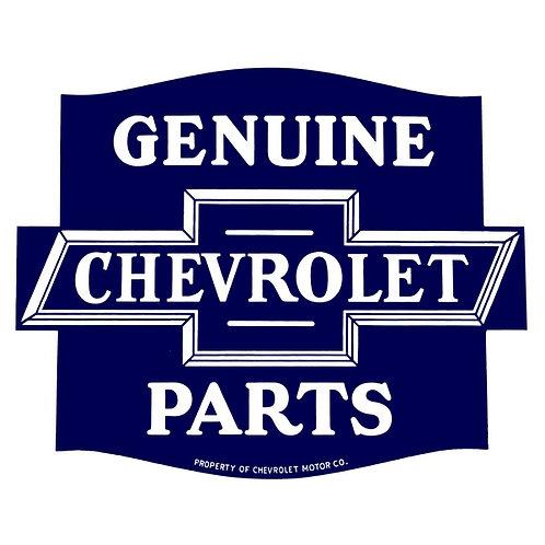 Chevrolet Genuine Parts Sticker