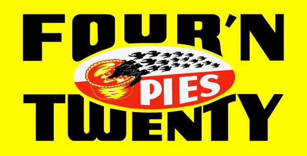 Four'N Twenty Pies sign