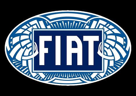 Fiat Badge Sticker