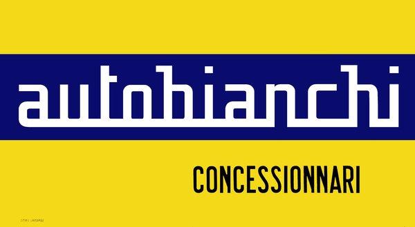 Autobianchi Concessionnari sign