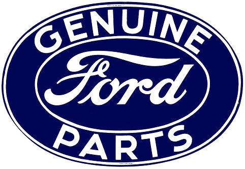 Genuine Ford Parts metal sign
