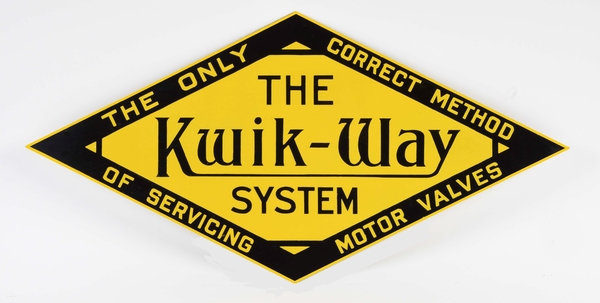 The Kwik-Way System sign
