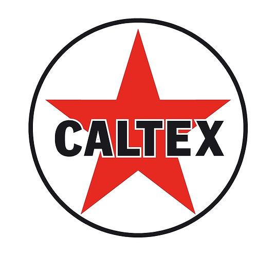 Caltex sign