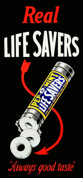 Lifesavers candy sign