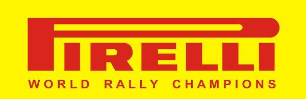 Pirelli World Rally Champions sign