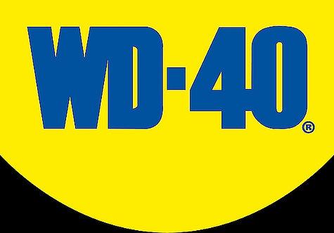 WD-40 metal sign